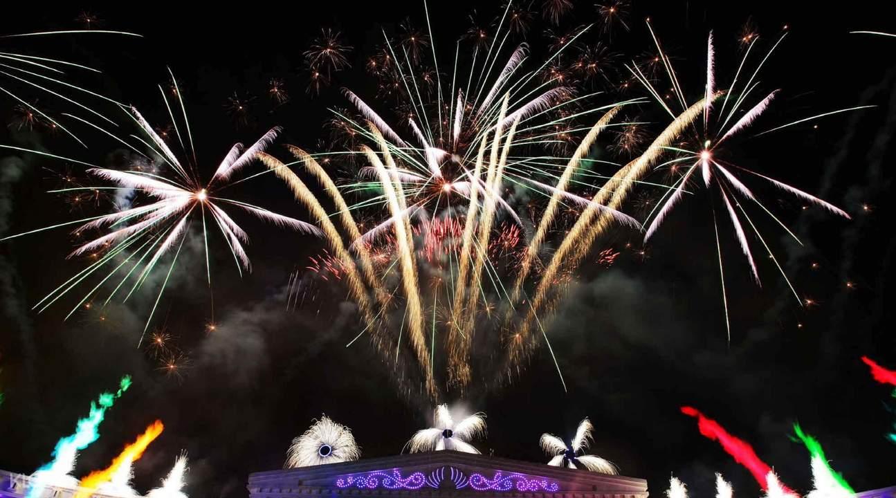 fireworks at everland